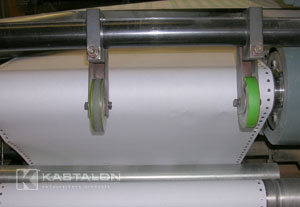 Kastalon Gripper Wheels for printing presses