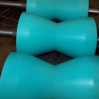 Polyurethane Roller Coverings for Larger Rollers